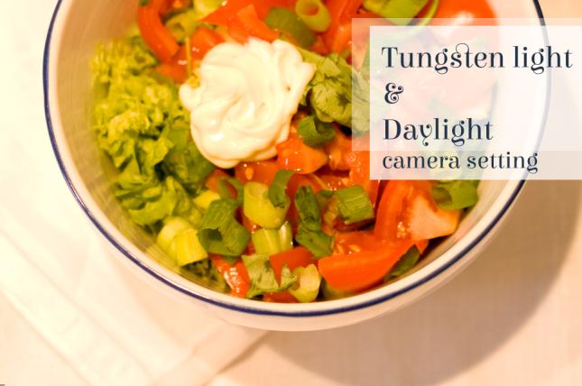 Tungsten + Daylight